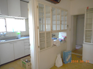 キッチン bofore