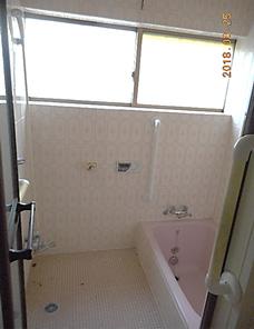 浴室 bofore